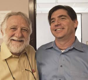 RHD Services founder Robert H. Davis and his son, current RHD president Joel Davis.